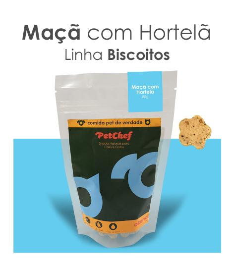Biscoito - Maça com Hortelã * Novo tamanho 25% mais delícias
