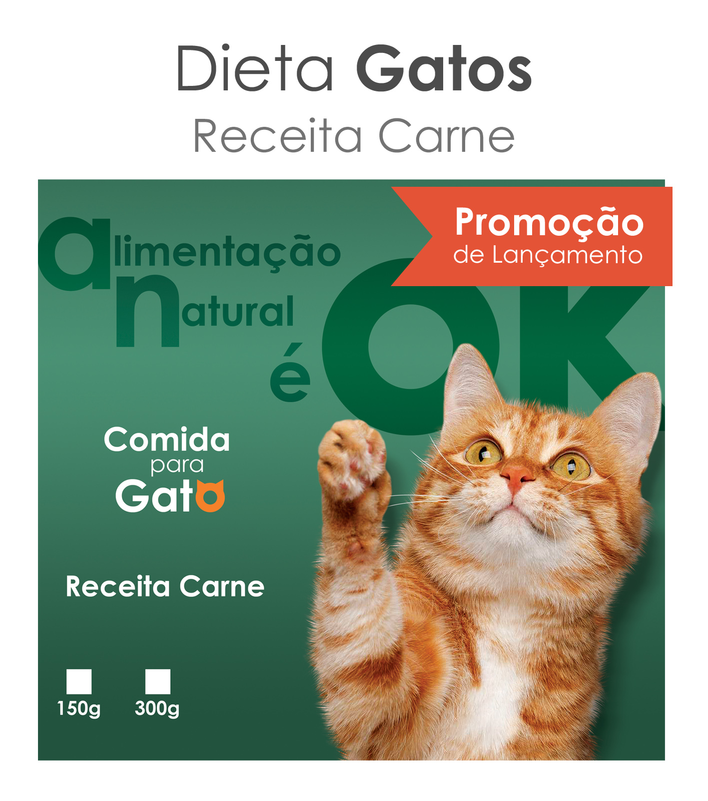 Okena PetChef Gatos - Carne