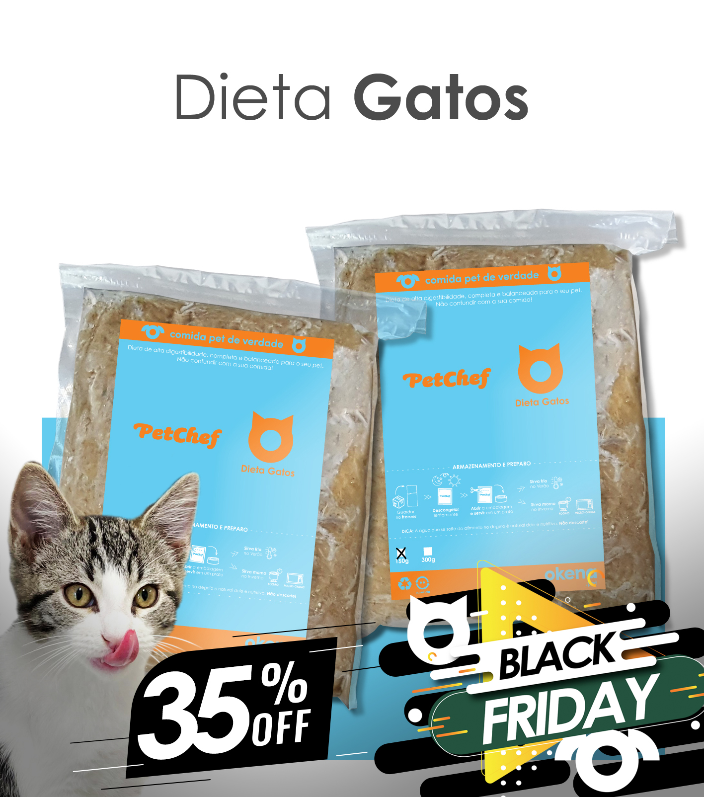 Kit Gatos BLACK FRIDAY