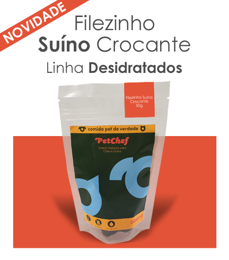Petisco Natural - Filezinho Suíno Crocante