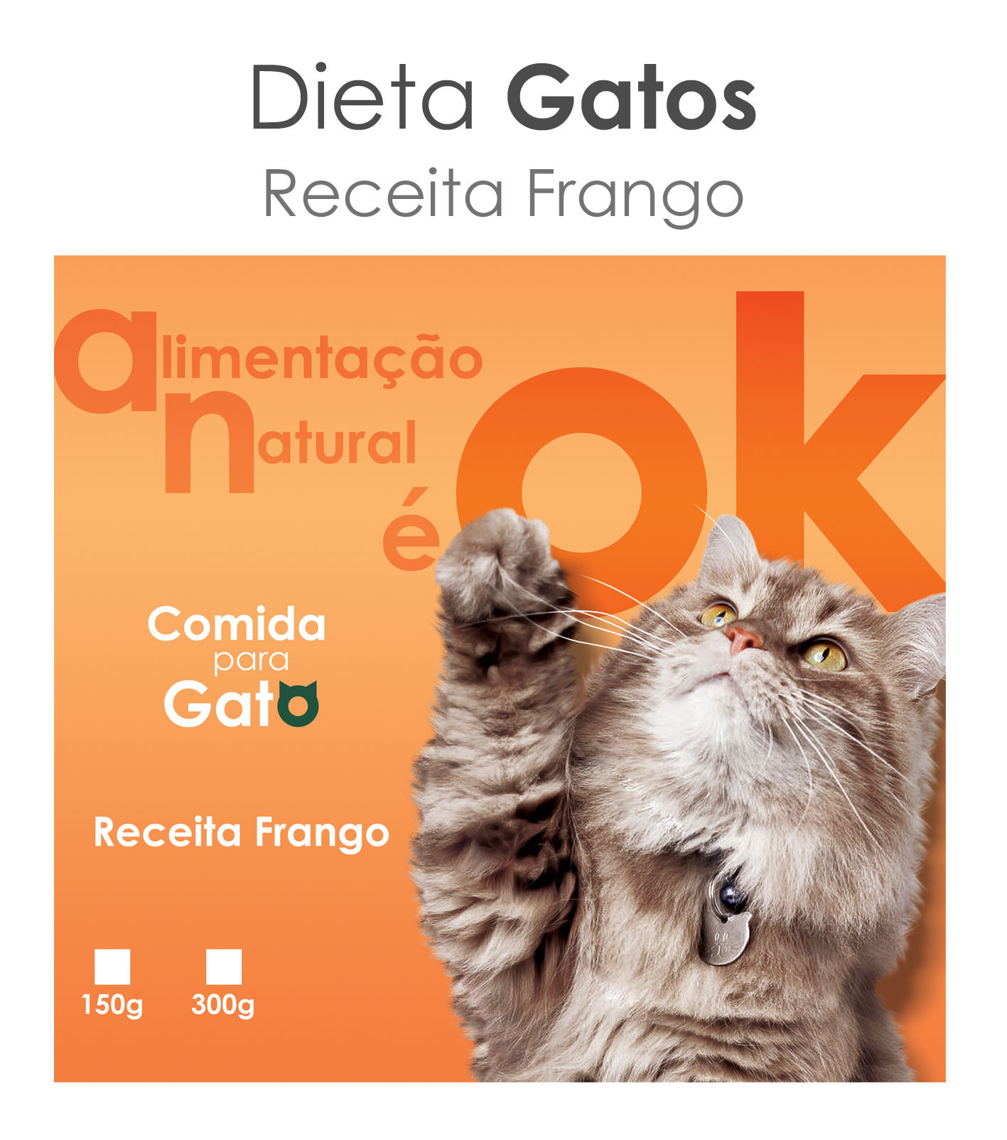 Okena PetChef Gatos - Frango