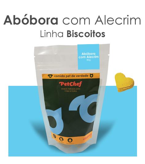 Biscoito - Abóbora com Alecrim * Novo tamanho 25% mais delícias