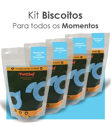 Kit Biscoitos - Momentos   *** Novo tamanho 25% mais delícias